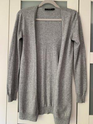 Hallhuber Giacca in maglia grigio chiaro