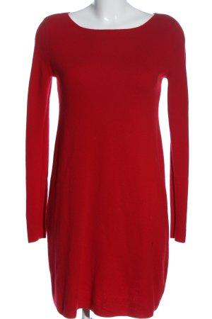 Hallhuber Sukienka z dzianiny czerwony W stylu casual