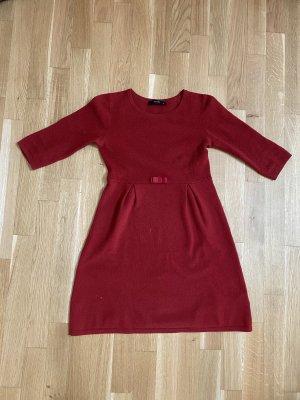 Hallhuber-Strickkleid! Herbstkleid! Sommerkleid! Strickkleid mit Schleife / Schleifchen