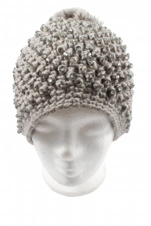 Hallhuber Knitted Hat light grey casual look