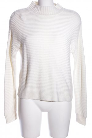 Hallhuber Strickpullover creme Casual-Look