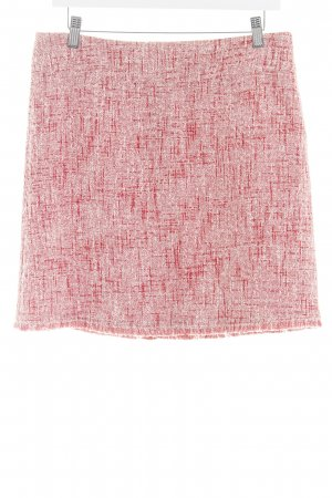 Hallhuber Knitted Skirt red-white casual look