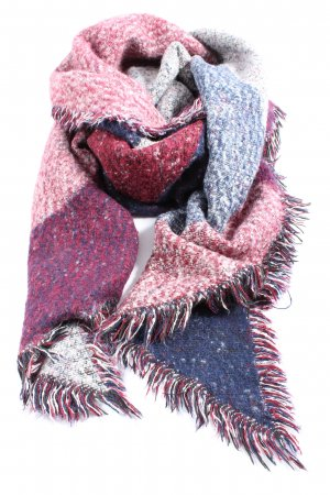 Hallhuber Knitted Scarf multicolored casual look
