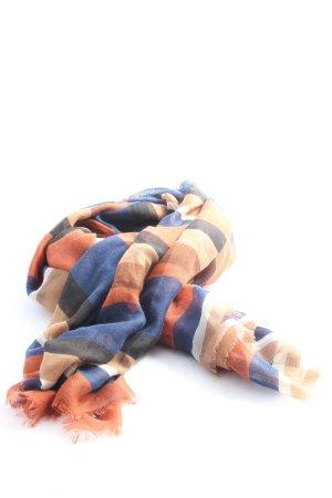 Hallhuber Bufanda de punto multicolor look casual