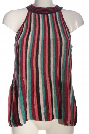 Hallhuber Knitted Top striped pattern casual look