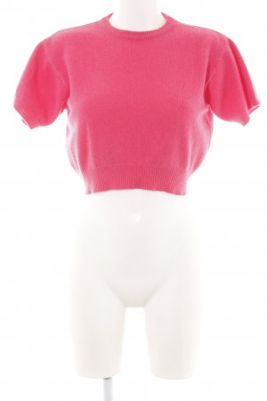 Hallhuber Knitted Top pink casual look