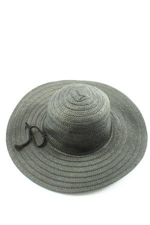 Hallhuber Straw Hat black casual look