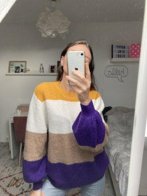 Hallhuber stylischer Oversized Pullover Wollmix XS/34