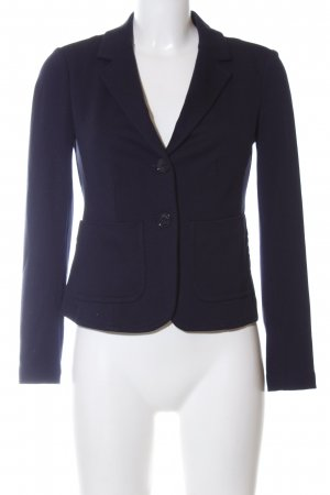 Hallhuber Sweatblazer blau Business-Look