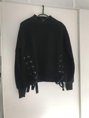 Hallhuber Sweatshirt Knoten Details hervorragend