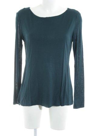 Hallhuber Sweatshirt petrol Casual-Look