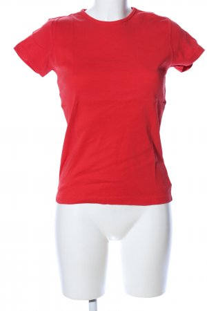 Hallhuber T-Shirt rot Casual-Look