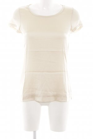 Hallhuber T-Shirt creme Business-Look