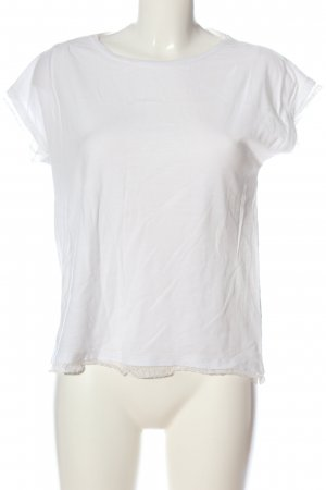 Hallhuber T-Shirt weiß Casual-Look
