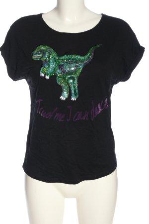 Hallhuber T-Shirt Motivdruck Casual-Look