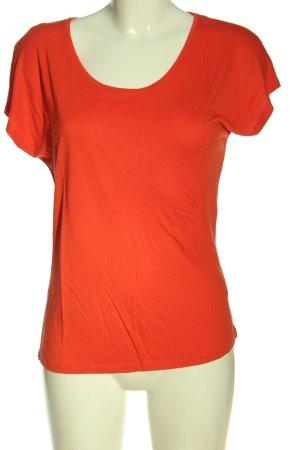 Hallhuber T-Shirt hellorange Casual-Look