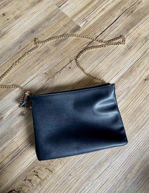 Hallhuber Crossbody bag black-gold-colored