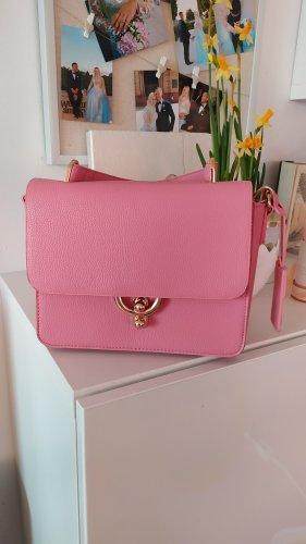 Hallhuber Tasche rosa gold wie neu