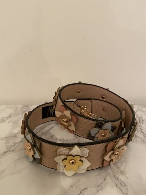 Hallhuber Faux Leather Belt multicolored mixture fibre