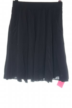 Hallhuber Circle Skirt black business style