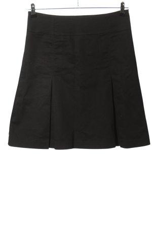 Hallhuber Spódnica z koła czarny W stylu casual