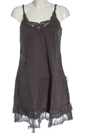 Hallhuber Trägerkleid braun Casual-Look