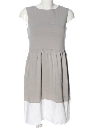 Hallhuber Stretch Dress light grey-white casual look