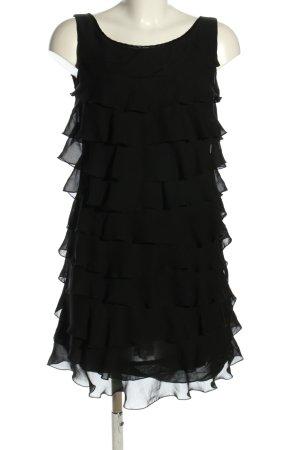 Hallhuber Trägerkleid schwarz Elegant