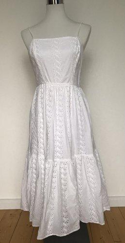Hallhuber Sukienka na ramiączkach biały