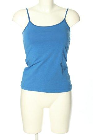 Hallhuber Trägertop blau Casual-Look