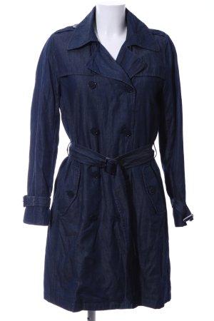 Hallhuber Trenchcoat blau Casual-Look