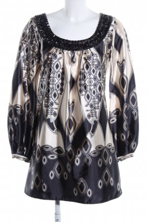 Hallhuber trend Blouse Dress abstract pattern casual look
