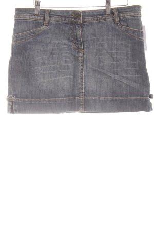 Hallhuber trend Jeansrock kornblumenblau Casual-Look