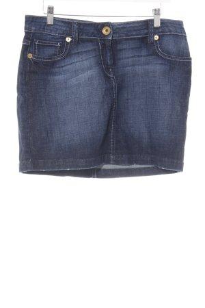 Hallhuber trend Jeansrock mehrfarbig Casual-Look