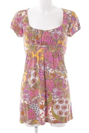 Hallhuber trend Jerseykleid mehrfarbig extravaganter Stil