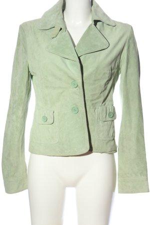Hallhuber trend Kurz-Blazer grün Business-Look