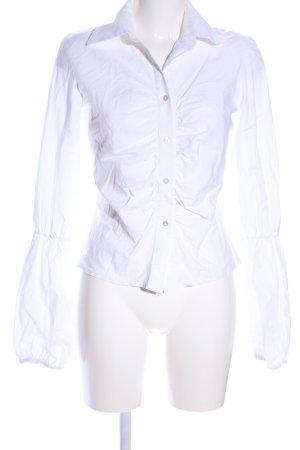 Hallhuber trend Langarmhemd weiß Elegant