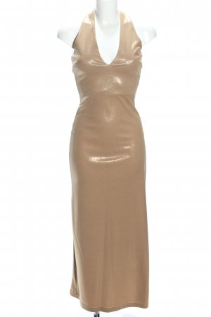 Hallhuber trend Maxi Dress gold-colored elegant