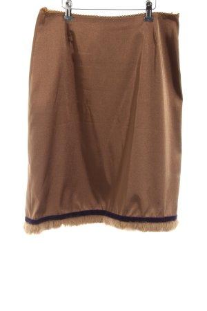 Hallhuber trend Stretchrock bronzefarben Glanz-Optik