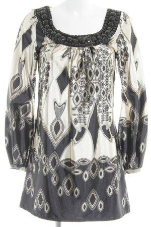 Hallhuber trend Tunikakleid abstraktes Muster Elegant