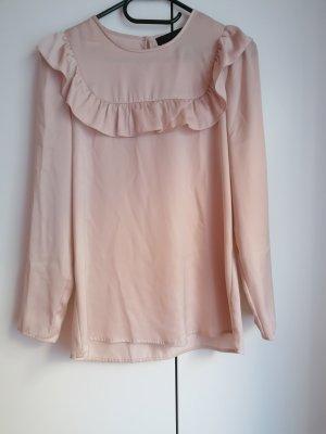 Hallhuber Blusa de túnica multicolor