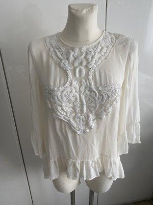 Hallhuber Donna Tunic Blouse natural white