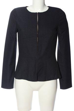Hallhuber Tweed Blazer blue-white striped pattern casual look
