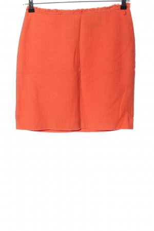 Hallhuber Tweed Skirt light orange casual look