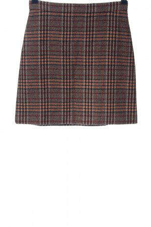 Hallhuber Falda Tweed estampado a cuadros look casual