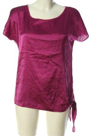 Hallhuber U-Boot-Shirt pink Casual-Look