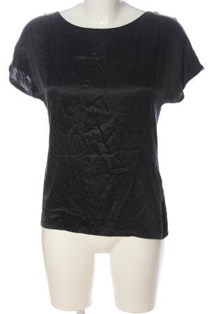 Hallhuber Boothalsshirt zwart casual uitstraling