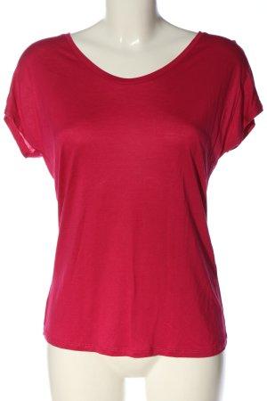 Hallhuber Boothalsshirt roze casual uitstraling