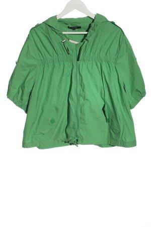 Hallhuber Kurtka przejściowa zielony W stylu casual