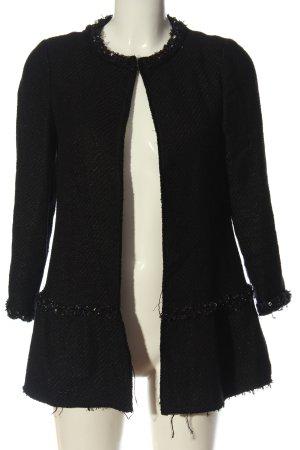 Hallhuber Płaszcz przejściowy czarny W stylu casual